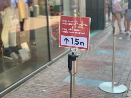 Geen anderhalve meter meer, en geen maximum aantal klanten in winkels
