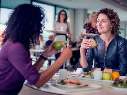 3x gezond eten op je werk