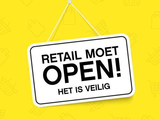 De winkels moeten weer open! Teken de petitie!