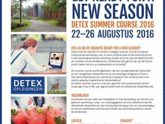 Detex summer course
