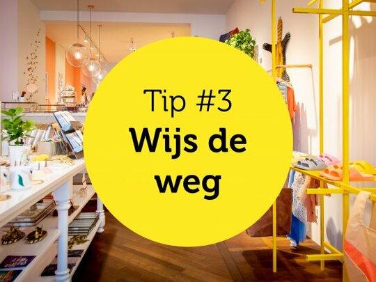 Gastvrijheid in de winkel tip #3: Wijs de weg