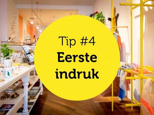 Gastvrijheid in de winkel tip #4: Eerste indruk