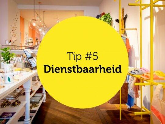 Gastvrijheid in de winkel tip #5: Dienstbaarheid
