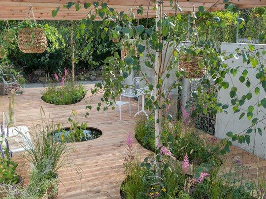 Een oase in de tuin met de stijl 'Inner Retreat'