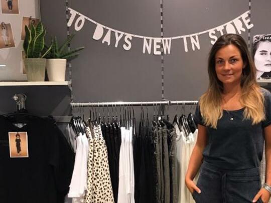 Iris Hulsteijn: jong, ambitieus en nu al eigenaar van een modezaak