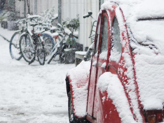 Wat als je door het extreme weer niet op het werk kan komen?