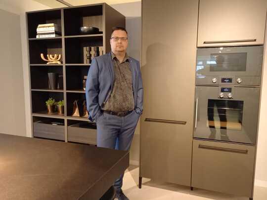 """Jochem: """"Een moderne keuken in een oud huis bouwen, is best een uitdaging!"""""""