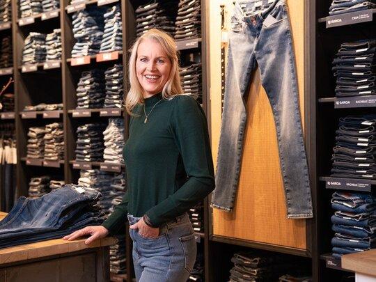 Trots op je Werk: Alida bruist van de ideeën voor Jeans Centre!