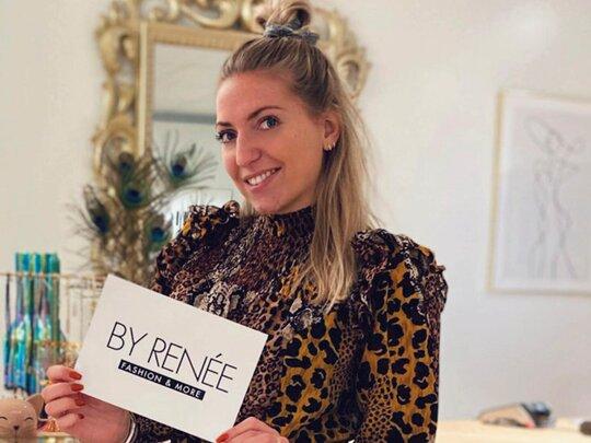 20-jarige Renée begon eigen winkel tijdens lockdown: BYRENÉE