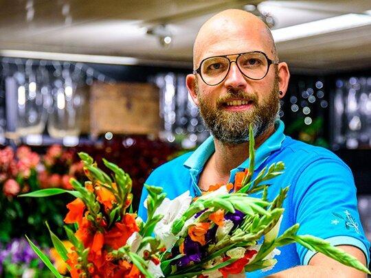 """Wilfred van Tuincentrum Leurs: """"Bloemen zijn mijn kindjes!"""""""