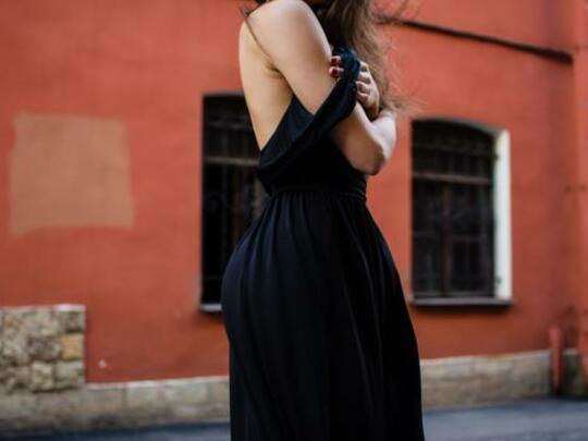 Zwart kleedt niet af!